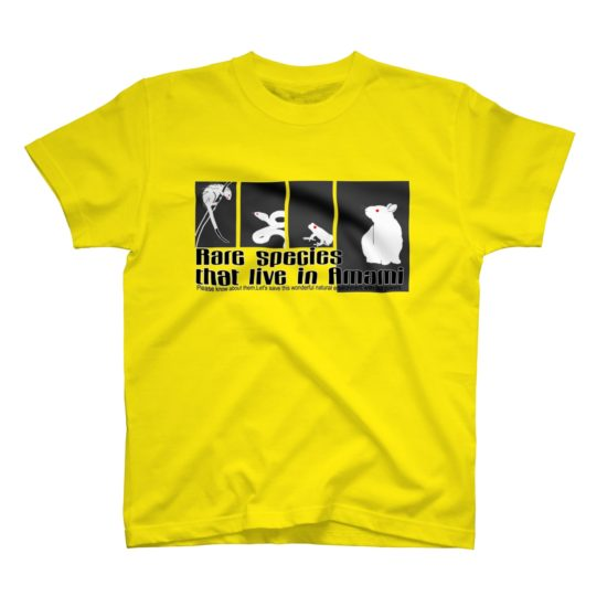 奄美の生き物Tシャツ